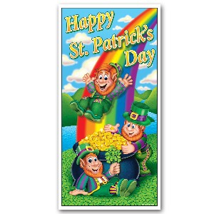ST PATRICKS DAY DOOR SIGN