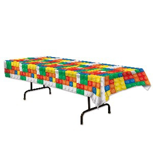 BLOCK PARTY TABLECLOTH