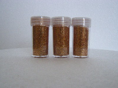 GLITTER SHAKERS 8grams RICH GOLD 3s