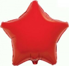 19 INCH FOIL STAR RED