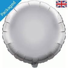 18 INCH FOIL ROUND SILVER
