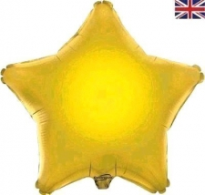 19 INCH FOIL STAR GOLD