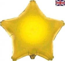 19 INCH FOIL STAR BALLOON GOLD