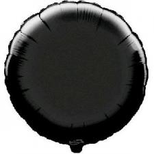 18 INCH FOIL ROUND BALLOON BLACK