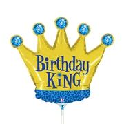 14 INCH FOIL BIRTHDAY KING