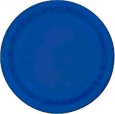 SOLID COLOUR COBALT BLUE PLATES 9
