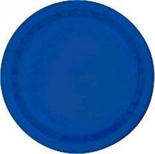 SOLID COLOUR COBALT BLUE PLATES 9