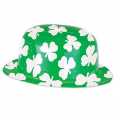 ST PATRICKS HAT SHAMROCK FULL DERBY