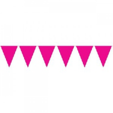 BUNTING SOLID CERISE