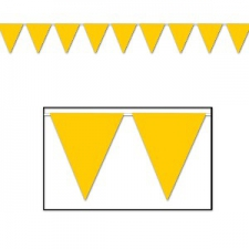 BUNTING SOLID YELLOW