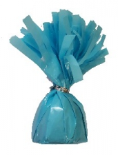 BALLOON WEIGHT FOIL BABY BLUE