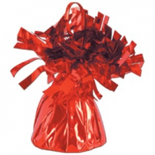 BALLOON WEIGHT FOIL RED