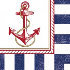 ANCHORS AWEIGH NAPKINS