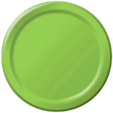 SOLID COLOUR FRESH LIME PLATES 7