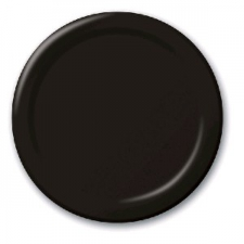 SOLID COLOUR BLACK VELVET PLATES 7