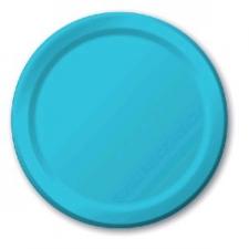 SOLID COLOUR BERMUDA BLUE PLATES 7