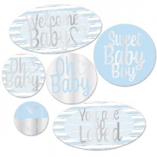 BABY CUTOUTS BLUE 6S