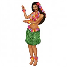 HULA CUTOUT GIRL 3FOOT 2INCHES