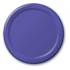 SOLID COLOUR PURPLE PLATES