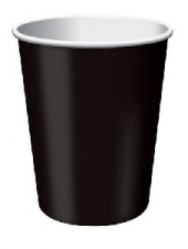 SOLID COLOUR BLACK VELVET CUPS