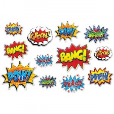 SUPER HERO CUTOUTS 12S 6INCHES TO 12INCHES