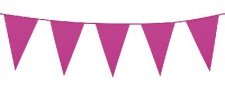 BUNTING SOLID HOT PINK 10m