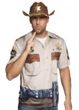 PHOTOREALISTIC SHIRT SHERIFF M