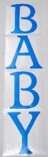 BALLOON STICKER BABY BLUE