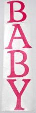 BALLOON STICKER BABY PINK