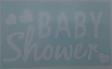 BALLOON STICKER BABY SHOWER 10's