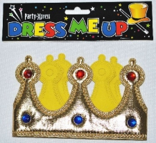 CROWN FABRIC GOLD