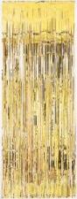 DOOR CURTAIN GOLD 1 X 2M