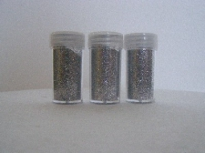 GLITTER SHAKERS 8grams SILVER 3s