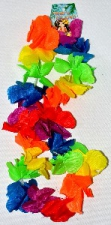 HULA LEIS 50CM MULTI COLOUR DELUX