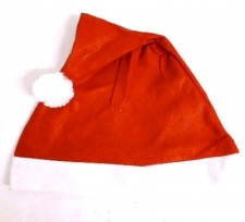 CHRISTMAS HAT FELT PLAIN