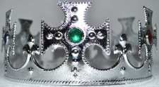 CROWN PLASTIC SILVER