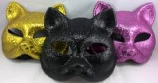 MASK CAT GLITTER ASSTD