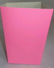 POPCORN BOX SMALL BRIGHT PINK