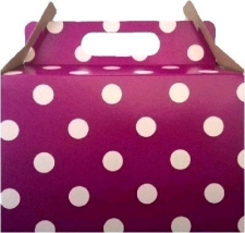 PARTY BOX POLKA PURPLE