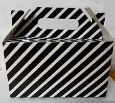 PARTY BOXES STRIPES BLACK 8S