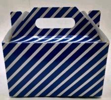 PARTY BOXES STRIPES DARK BLUE 8S