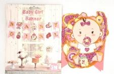 BUNTING BABY GIRL 3m