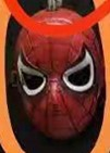 MASK RED SPIDER WEB