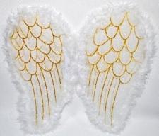 WINGS ANGEL 40CM WHITE