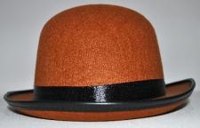 HAT BOWLER BROWN