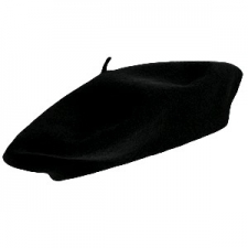 HAT BERET BLACK
