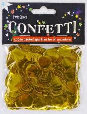 BALLOON CONFETTI FOIL GOLD