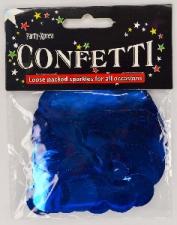 BALLOON CONFETTI FOIL BLUE