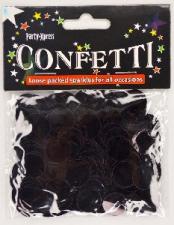 BALLOON CONFETTI FOIL BLACK