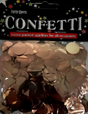 BALLOON CONFETTI FOIL ROSE GOLD